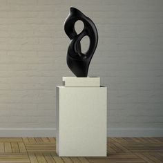 Nucleus Contemporary Garden Sculpture On Pedestal. Buy Now At  Http://www.statuesandsculptures.co.uk/nucleus Contemporary Garden Sculpture  On Pedestu2026