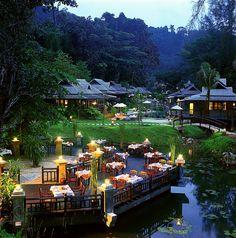 Malila Restaurant, Moracea by Khao Lak Resort, Phan Nga, Thailand