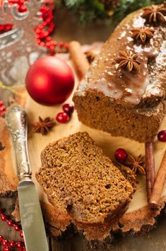 Fit piernik Krispie Treats, Rice Krispies, Sweet Bread, Healthy Baking, Banana Bread, Vegan, Christmas, Cakes, Breads