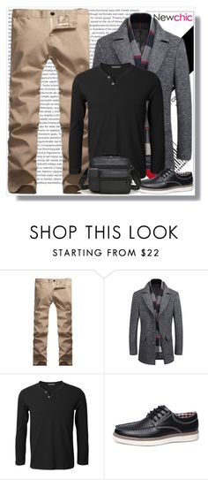 """""""NEWCHIC"""" by sabine-rose ❤ liked on Polyvore featuring Oris and newchic"""