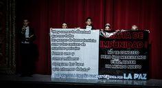Los Bailarines de la Compañía Nacional de Danza se Unen al Movimiento por la Paz en México. Recordando el Caso Ayotzinapa.