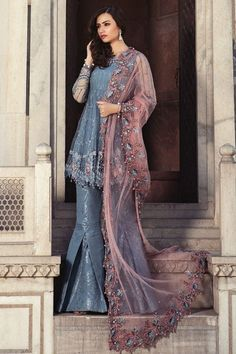 82cf7be5a2 Best Eid Women Dresses Maria B Mbroidered Eid Collection 2018-19 Eid Dresses,  Party