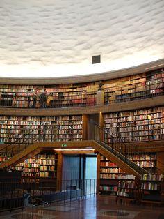Stockholms stadsbibliotek. Stockholm Public Library. Asplund