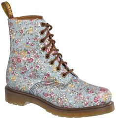 i'm sorry but floral or not....doc martins will never be cute....whoever decided in 1991 that they were stylish should be fired!!! so icky!!