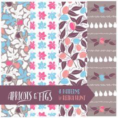 Apricots & Figs Pattern Set