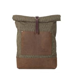 rolled top backpack
