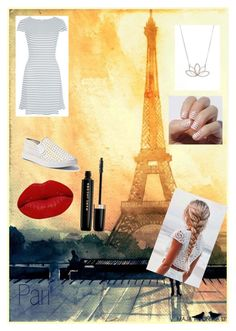 """""""Sunset at Paris"""" by happy-geek7 ❤ liked on Polyvore featuring New Look, Nashelle, Steve Madden, Winky Lux, Marc Jacobs, MAKOTO and SoWantToGoThere"""