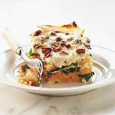 Butternut-Kale Lasagna Recipe | MyRecipes.com