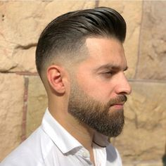 hair and beard styles 69 Trendy Beard Style For Round Face Men you Must Try Beard Styles For Men, Hair And Beard Styles, Short Hair Styles, Braid Styles, Beard Cuts, Beard Fade, Cool Haircuts, Haircuts For Men, Round Face Men