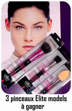 pinceaux maquillage Elite ModelsDepuis que j'ai testé la marque Elite models , je ne peux plus m'en passer. Alors quand on me propose de tester les nouveautés, je ne refuse pas. Je ne suis en rien une blogueuse beauté et encore moins une pro du maquillage...