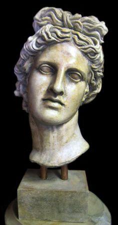 the Greek god Apollo god of the sun  - greek-mythology