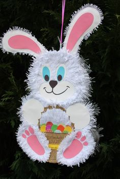 Bunny Pinata by AbitaAchie on Etsy, $41.00