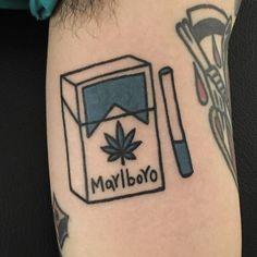 Quirky cigarette tattoo                                                                                                                                                                                 More