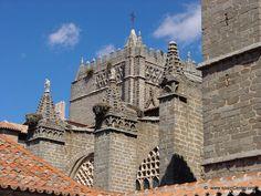 Ábside de la catedral de Ávila #CastillayLeon #Spain