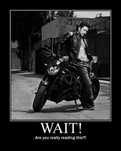 seriously need to see Agent Cho on a bike!!!!