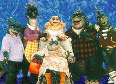 dinosaurs. lol.. best show ever.