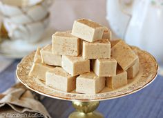 Fast and Delicious Chai Spiced White Chocolate Fudge