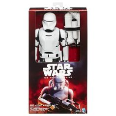 Amazon.com: Star Wars The Force Awakens 12-inch First Order Flametrooper: Toys & Games