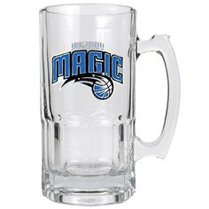 NBA Orlando Magic 1 Liter Macho Mug  Primary Logo ** Click image to review more details.
