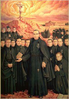 Santos, Beatos, Veneráveis e Servos de Deus: Beatos Mártires Passionistas de Daimiel, Espanha (...