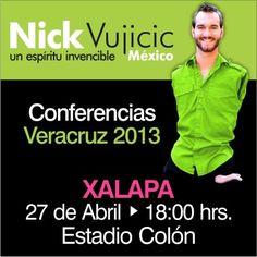 Nick Vujicic en Xalapa, Veracruz.