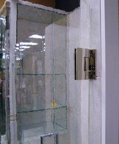 Shower Door Hardware- Wall Hinge