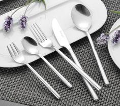Esmeyer Silke 24 Posate in acciaio INOX 18/0 battuto, confezione regalo: Amazon.it: Casa e cucina