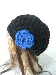 Slouchy Beanie   Hat- Crochet Hat -  Crochet Beanie Hat  - Womens hat - chunky knit   Beanie women accessories  Winter Accessories   Fashion