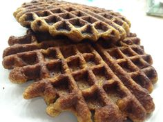 sweet potato plantain waffles