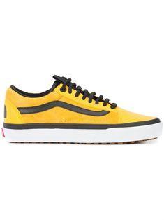 Yellow Vans, Black Vans, Yellow Shoes, Black Sneakers, Vans Sneakers, Yellow Black, Mens Vans Shoes, Vans Men, Converse Shoes