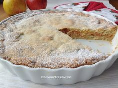 VÍKENDOVÉ PEČENÍ: Křehký jablečný koláč Cheesecake, Muffin, Pie, Breakfast, Sweet, Desserts, Recipes, Food, Coffee