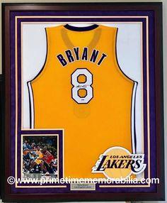95574fe1a79 Kobe Bryant Los Angeles Lakers framed jersey www.primetimememorabilia.com