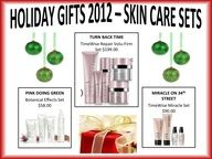 Holiday Gifts 2012- Skin Care Sets