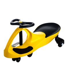 Yellow Wiggle Car Ride-On by Lil' Rider #zulily #zulilyfinds