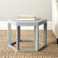 Safavieh Heidi Pearl Blue Grey End Table | Overstock.com Shopping - Great Deals on Safavieh Coffee, Sofa & End Tables