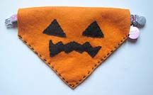Halloween Dog Collar Cover Directions