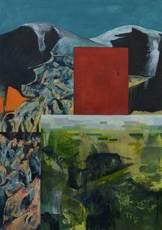"Saatchi Art Artist Emily Cranny; Painting, ""Nature Imitates Art While Destroying It"" #art"