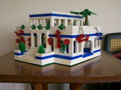 Hanging Gardens Of Babylon A Lego Creation By Anthony Dunne