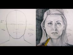 How to Draw Facial Proportions - YouTube