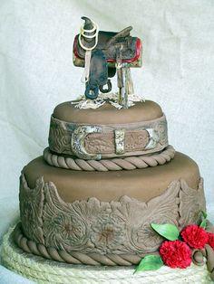 saddle cake :)
