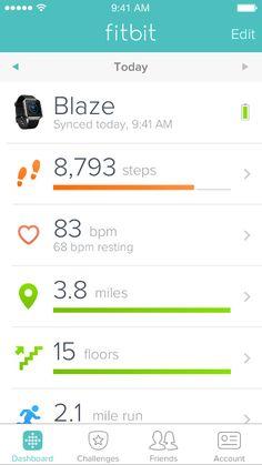 Fitbit アプリとダッシュボード