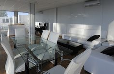 Enjoy any of our VIP lounges. | Universal Aviation at Madrid-Torrejón Airport (LETO), Madrid Spain - FBO and Ground Handling for Business Aircraft.
