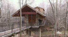 Somebody Turned This Abandoned Train Bridge Into a Home  - PopularMechanics.com