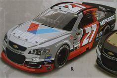 Jayski's® NASCAR Silly Season Site - 2016 NASCAR Sprint Cup Series #27 Paint Schemes
