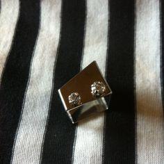 Handmade Robot Ring by allesa on Etsy, $16.00