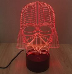 Star Wars 3D Lamp - Man Cave Must Have Total shipping time including processing is 7-14 days.