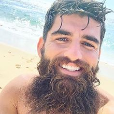 Amazing Wet Hairstyles For Handsome Groom Beard Styles For Men, Hair And Beard Styles, Hair Styles, Moustaches, Body Groomer, Oily Face, Epic Beard, Coarse Hair, Beard Love