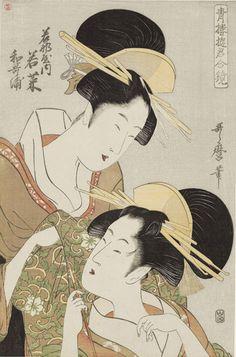 世界最大の日本美術コレクションを誇るボストン美術館が収蔵する浮世絵130点を集めた「ボストン美術館浮世絵名作展錦絵の黄…