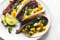 Jamaican Jerk Steak Tacos