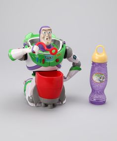 #zulily #fall Take a look at this Buzz Lightyear Bubble Blower & Bubble Solution by Outdoor Fun Collection on #zulily today!